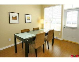 """Photo 5: 24 20460 66TH Avenue in Langley: Willoughby Heights Townhouse for sale in """"WILLOW EDGE"""" : MLS®# F2822446"""
