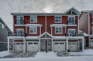 Main Photo: 403 881 Sage Valley Boulevard NW in Calgary: Sage Hill Row/Townhouse for sale : MLS®# A1069499
