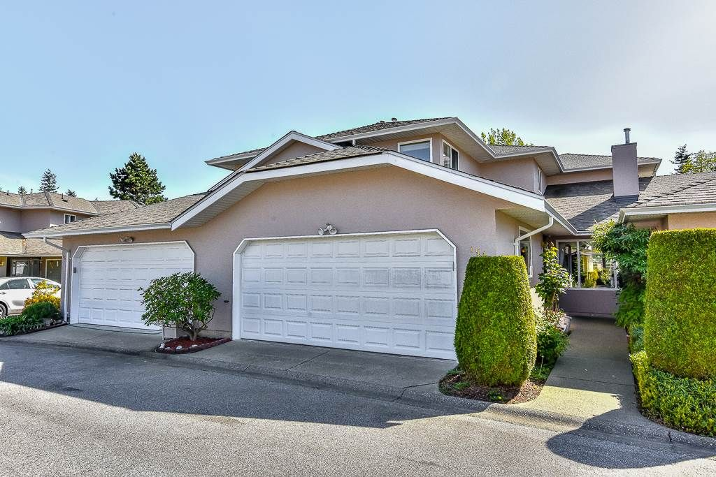 "Main Photo: 154 15501 89A Avenue in Surrey: Fleetwood Tynehead Townhouse for sale in ""AVONDALE"" : MLS®# R2063365"