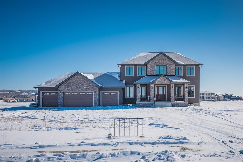 Spring Bank 2 Acreage Home, with 4 Car Garage. Close to 6000 Square Feet, Including Basement Area.