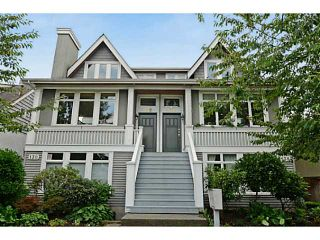 "Photo 1: 132 W 16TH Avenue in Vancouver: Cambie Townhouse for sale in ""CAMBIE VILLAGE"" (Vancouver West)  : MLS®# V1025834"