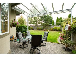 """Photo 10: 19 998 RIVERSIDE Drive in Port Coquitlam: Riverwood Townhouse for sale in """"PARKSIDE PLACE"""" : MLS®# V973342"""