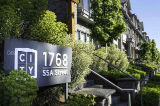 """Photo 1: 305 1768 55A Street in Tsawwassen: Cliff Drive Townhouse for sale in """"CITY HOMES NORTHGATE"""" : MLS®# R2296328"""