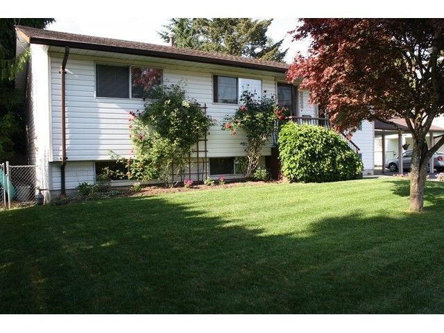 Main Photo: 34573 YORK Avenue in Abbotsford: Abbotsford East House for sale : MLS®# F1412525