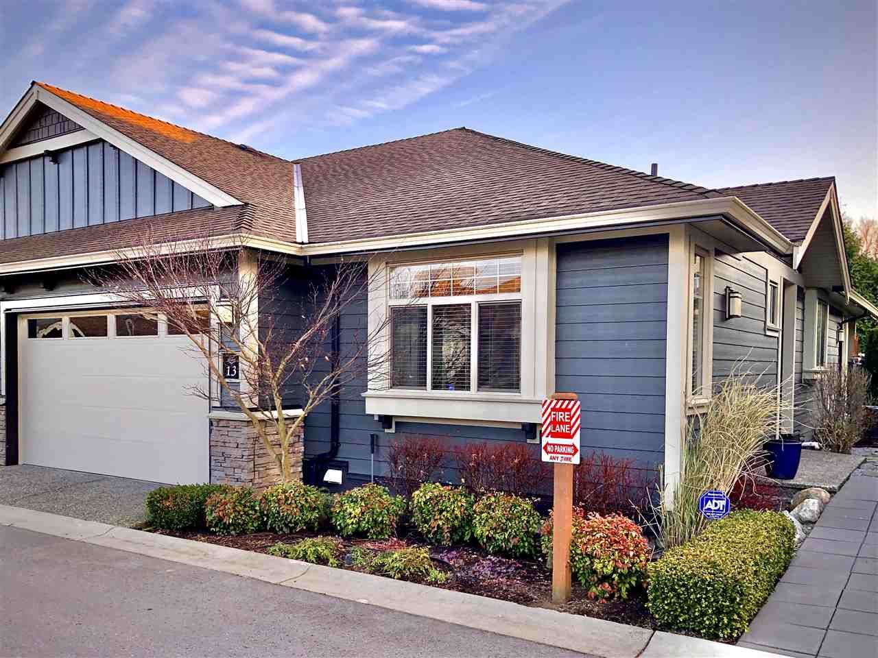 """Main Photo: 13 350 174 Street in Surrey: Pacific Douglas Townhouse for sale in """"The Greens"""" (South Surrey White Rock)  : MLS®# R2433866"""