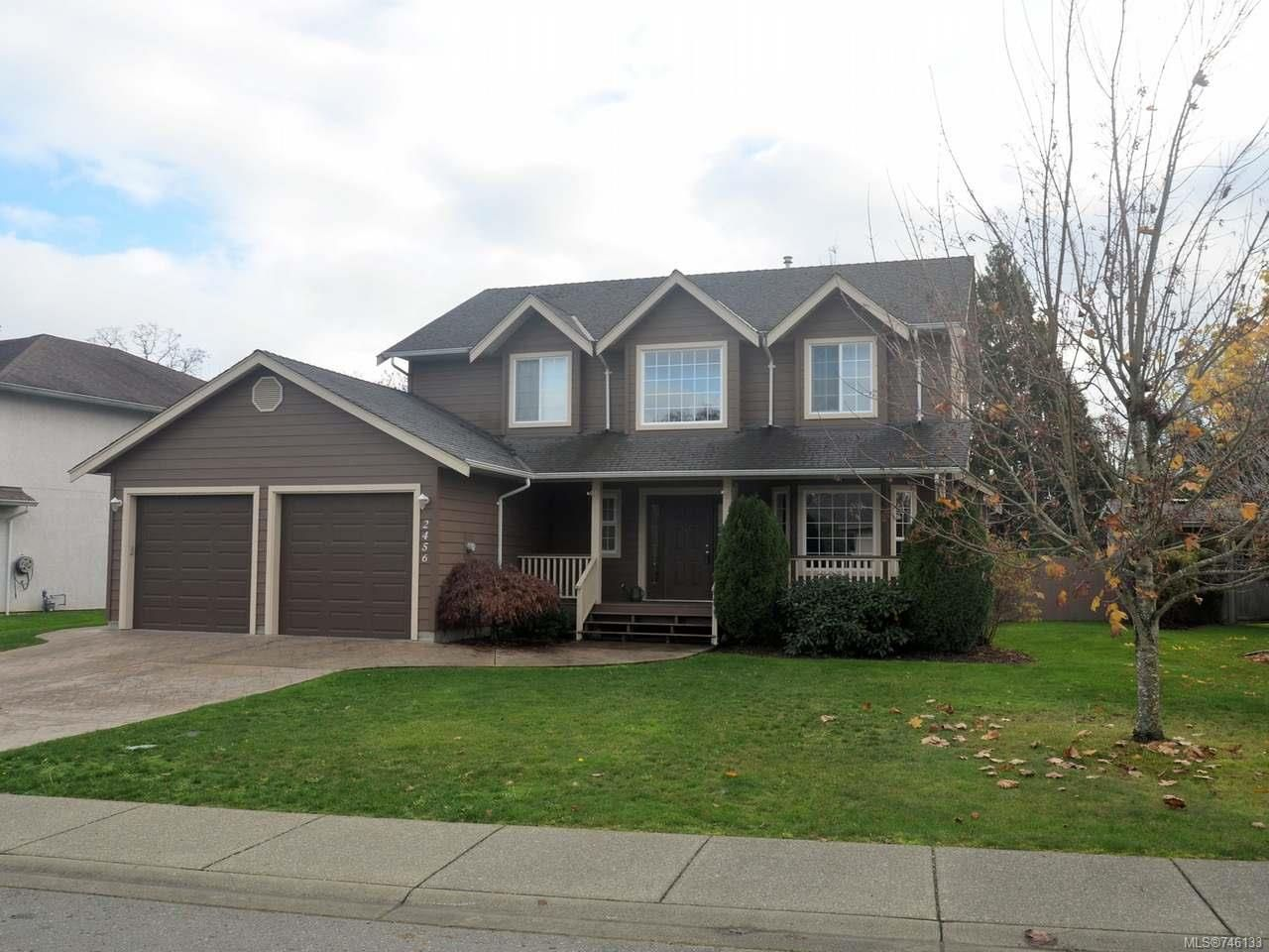 Main Photo: 2456 Timbercrest Dr in DUNCAN: Du East Duncan House for sale (Duncan)  : MLS®# 746133