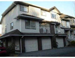 """Photo 1: 58 2450 LOBB AV in Port Coquiltam: Mary Hill Townhouse for sale in """"SOUTHSIDE"""" (Port Coquitlam)  : MLS®# V540701"""