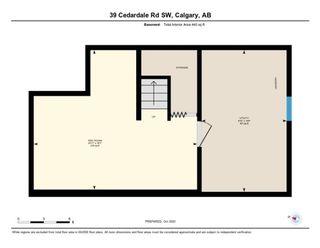 Photo 41: 39 Cedardale Road SW in Calgary: Cedarbrae Semi Detached for sale : MLS®# A1057502