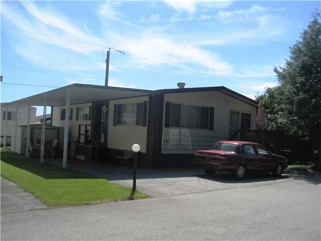 "Main Photo: 205 201 CAYER Street in Coquitlam: Coquitlam East Manufactured Home for sale in ""WILDWOOD PARK"" : MLS®# V965243"
