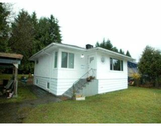 Photo 1: 3017 ST GEORGE Street in Port_Moody: Port Moody Centre House for sale (Port Moody)  : MLS®# V700513