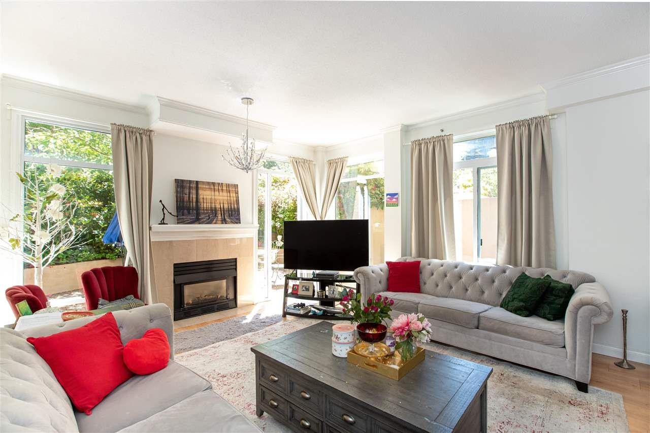 """Main Photo: 364 TAYLOR Way in West Vancouver: Park Royal Townhouse for sale in """"THE WESTROYAL"""" : MLS®# R2576775"""