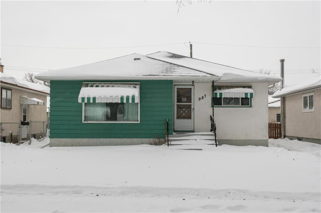 Main Photo: 987 Machray Avenue in Winnipeg: Sinclair Park Residential for sale (4C)  : MLS®# 202001399