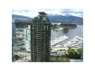"""Photo 1: 2605 1331 W GEORGIA Street in Vancouver: Coal Harbour Condo for sale in """"THE POINTE"""" (Vancouver West)  : MLS®# V891427"""