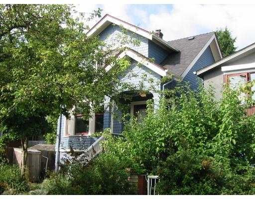 Main Photo: 1343 LAKEWOOD DR in Vancouver: Grandview VE House for sale (Vancouver East)  : MLS®# V553719