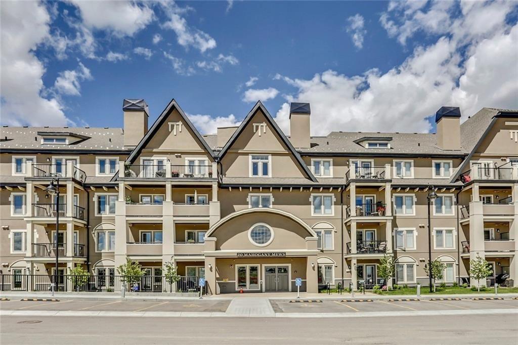 Main Photo: 112 20 MAHOGANY Mews SE in Calgary: Mahogany Apartment for sale : MLS®# A1124891