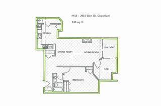 "Photo 1: 415 2915 GLEN Drive in Coquitlam: North Coquitlam Condo for sale in ""GLENBOROUGH"" : MLS®# R2246750"