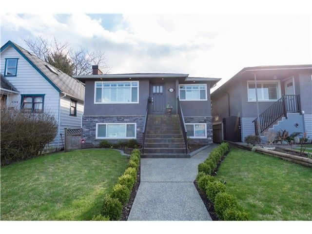 Main Photo: 4340 ALBERT ST in Burnaby: Vancouver Heights House for sale (Burnaby North)  : MLS®# V1107132