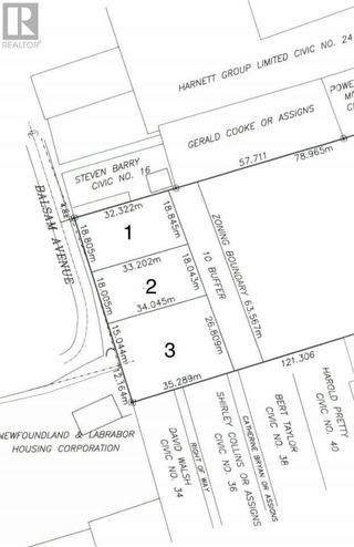 Photo 2: Lot 2 Balsam Avenue in Corner Brook: Vacant Land for sale : MLS®# 1228668