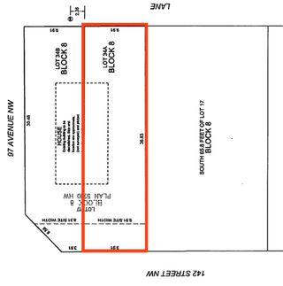 Photo 1: 9623 142 Street in Edmonton: Zone 10 Vacant Lot for sale : MLS®# E4240031