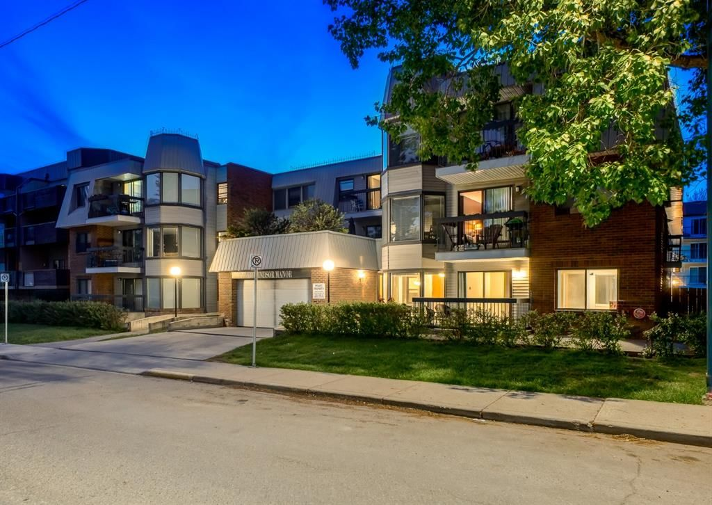 Main Photo: 108 630 57 Avenue SW in Calgary: Windsor Park Apartment for sale : MLS®# A1116378