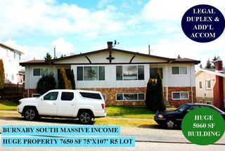 Photo 1: 7642 JOFFRE AVENUE in Burnaby: Suncrest House for sale (Burnaby South)  : MLS®# R2543864