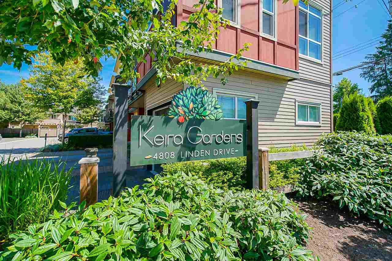 "Main Photo: 210 4808 LINDEN Drive in Ladner: Hawthorne Townhouse for sale in ""KIERA GARDEN"" : MLS®# R2478867"