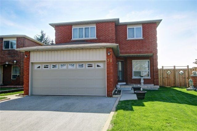 Main Photo: 71 Kyla Cres in Markham: Freehold for sale : MLS®# N4121719
