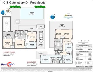Photo 18: 1018 GATENSBURY ROAD in Port Moody: Port Moody Centre House for sale : MLS®# R2546995