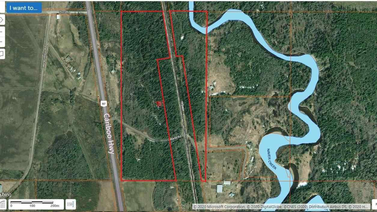 Main Photo: WADE ROAD: Hixon Land for sale (PG Rural South (Zone 78))  : MLS®# R2462198