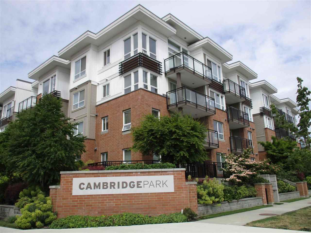 "Main Photo: 110 9500 ODLIN Road in Richmond: West Cambie Condo for sale in ""CAMBRIDGE PARK"" : MLS®# R2068379"