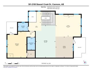 Photo 37: 301 2100F Stewart Creek Drive: Canmore Row/Townhouse for sale : MLS®# A1026088
