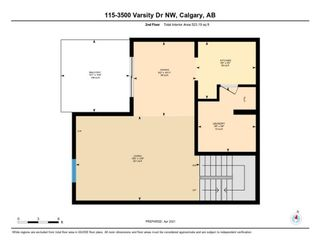 Photo 32: 115 3500 Varsity Drive NW in Calgary: Varsity Row/Townhouse for sale : MLS®# A1098716