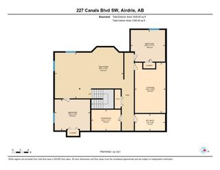 Photo 34: 227 Canals Boulevard SW: Airdrie Detached for sale : MLS®# A1091783