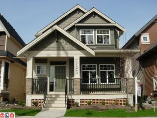 """Photo 1: 21243 83RD Avenue in Langley: Willoughby Heights House for sale in """"Yorkson"""" : MLS®# F1022713"""