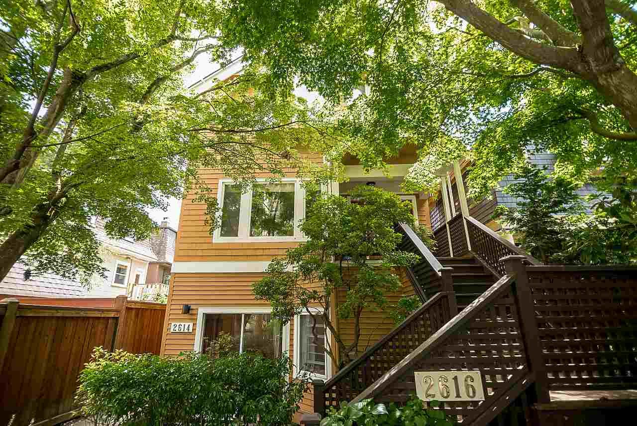"""Main Photo: 2614 W 5TH Avenue in Vancouver: Kitsilano 1/2 Duplex for sale in """"SWEET, SWEET KITSILANO, BABY"""" (Vancouver West)  : MLS®# R2180188"""