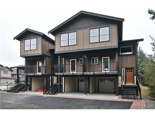 Main Photo: 105 982 Rattanwood Pl in VICTORIA: La Happy Valley Row/Townhouse for sale (Langford)  : MLS®# 625869