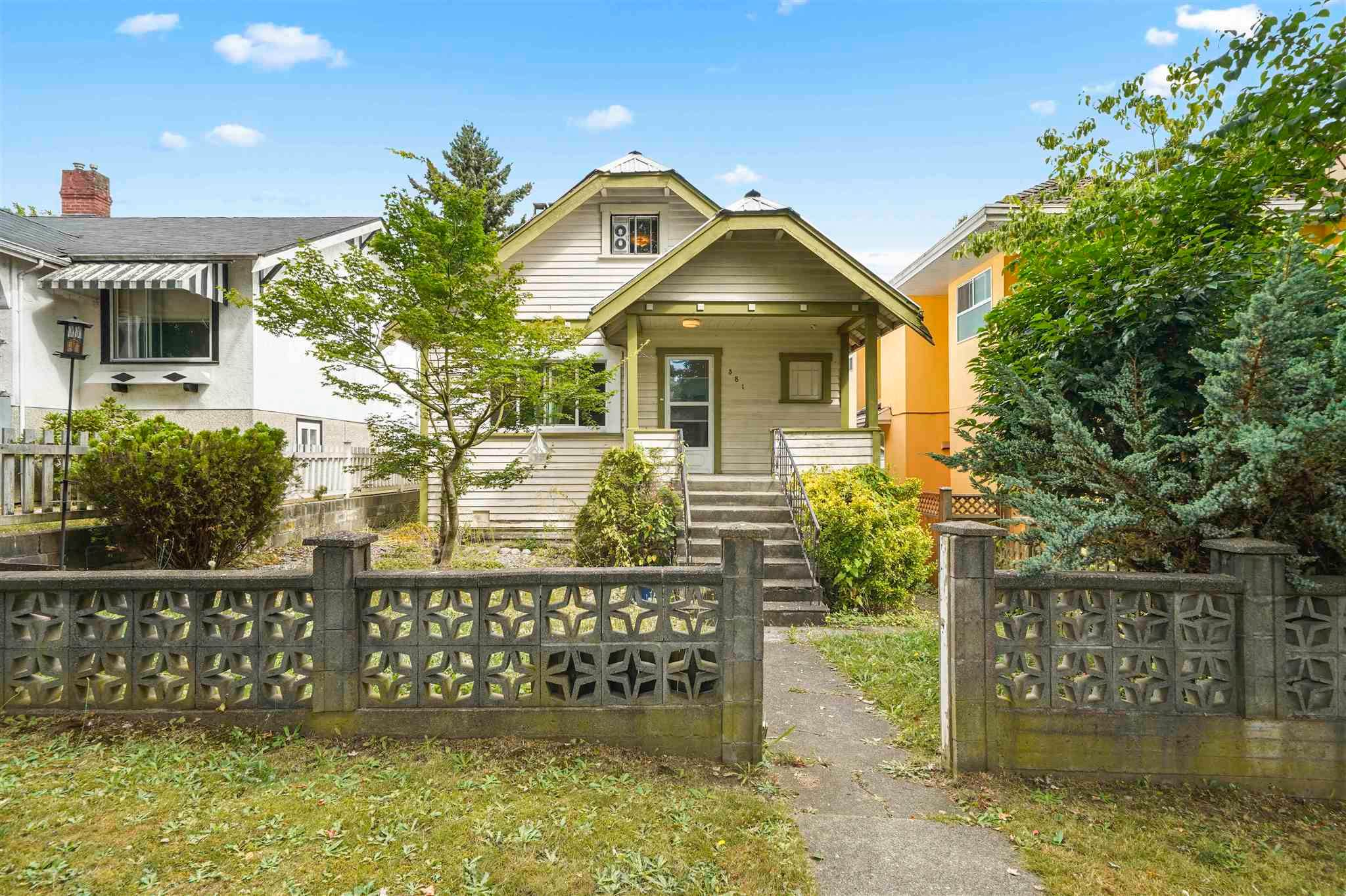 """Main Photo: 381 E 19TH Avenue in Vancouver: Main House for sale in """"Riley Park/Mt.Pleasant"""" (Vancouver East)  : MLS®# R2607959"""