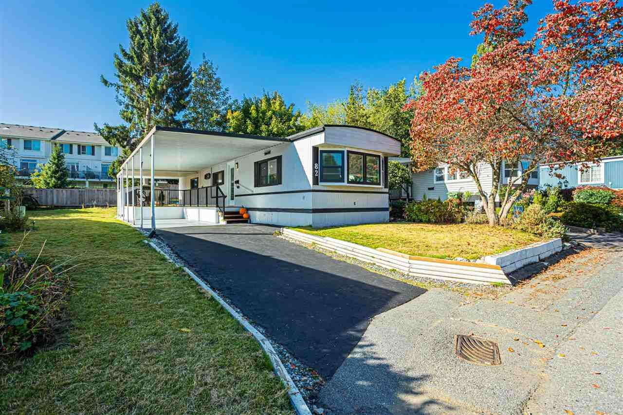 "Main Photo: 82 1840 160 Street in Surrey: King George Corridor Manufactured Home for sale in ""Breakaway Bays"" (South Surrey White Rock)  : MLS®# R2540211"