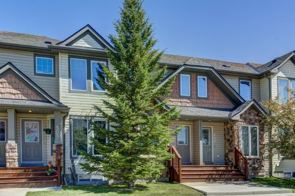 Main Photo: 504 2445 KINGSLAND Road SE: Airdrie Row/Townhouse for sale : MLS®# A1017254