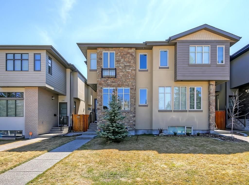Main Photo: 2343 22 Avenue SW in Calgary: Richmond Semi Detached for sale : MLS®# A1028227