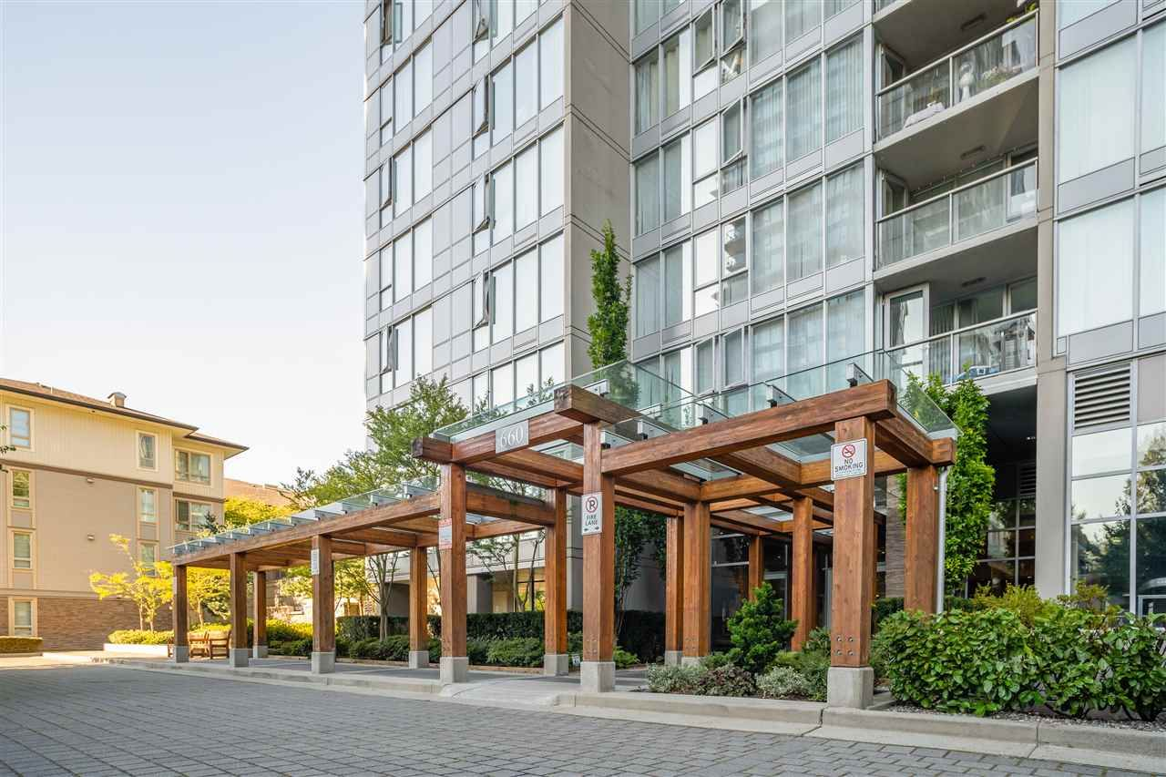 """Main Photo: 1201 660 NOOTKA Way in Port Moody: Port Moody Centre Condo for sale in """"Nahanni"""" : MLS®# R2497996"""