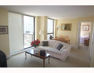 """Photo 3: 605 1295 RICHARDS Street in Vancouver: Downtown VW Condo for sale in """"THE OSCAR."""" (Vancouver West)  : MLS®# V719885"""