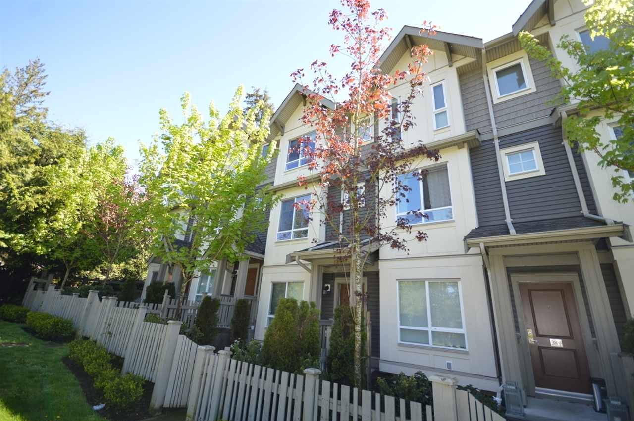 """Main Photo: 39 3395 GALLOWAY Avenue in Coquitlam: Burke Mountain Townhouse for sale in """"WYNWOOD"""" : MLS®# R2162840"""