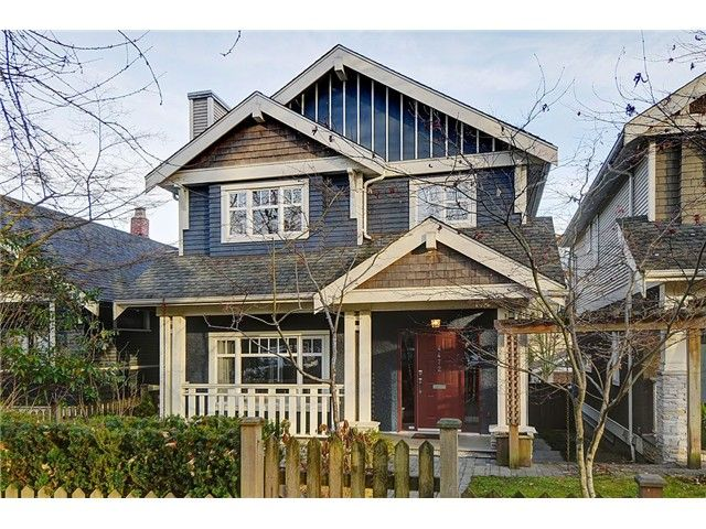 """Main Photo: 4472 QUEBEC Street in Vancouver: Main House for sale in """"MAIN STREET"""" (Vancouver East)  : MLS®# V1037297"""