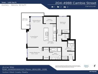"""Photo 26: 204 4988 CAMBIE Street in Vancouver: Cambie Condo for sale in """"Hawthorne"""" (Vancouver West)  : MLS®# R2619548"""