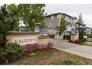 "Photo 1: 23 2729 158 Street in Surrey: Grandview Surrey Townhouse for sale in ""Kaleden"" (South Surrey White Rock)  : MLS®# R2143695"