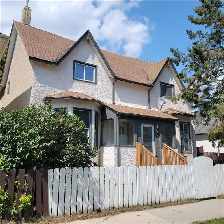 Main Photo: 109 Lusted Avenue in Winnipeg: Point Douglas Residential for sale (4A)  : MLS®# 202118907