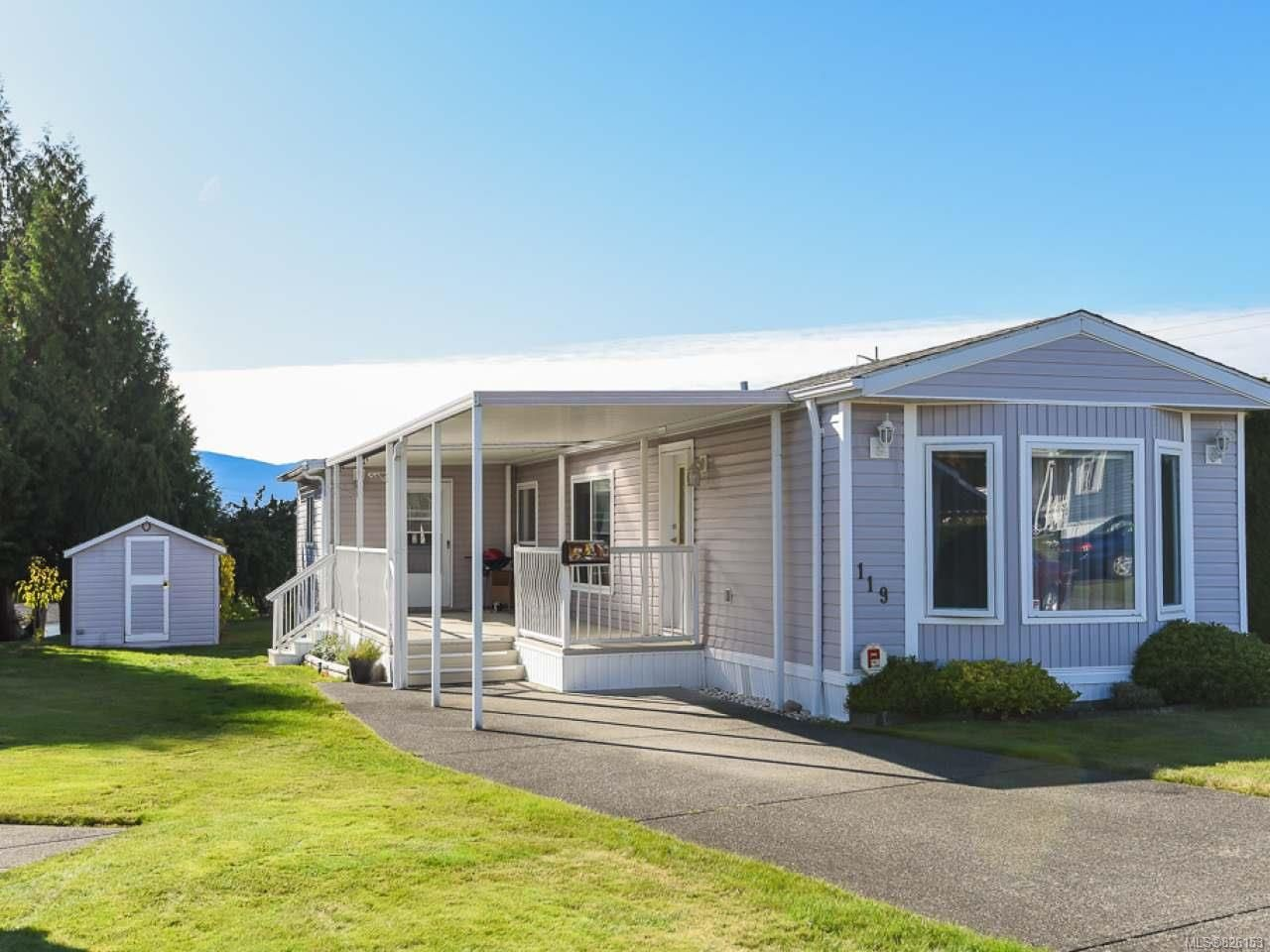 Main Photo: 119 4714 Muir Rd in COURTENAY: CV Courtenay East Manufactured Home for sale (Comox Valley)  : MLS®# 826153
