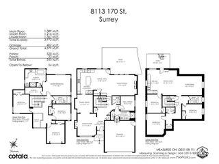 Photo 32: 8113 170 Street in Surrey: Fleetwood Tynehead House for sale : MLS®# R2608154