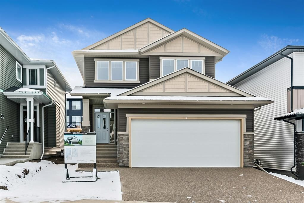 Main Photo: 294 Crestmont Drive SW in Calgary: Crestmont Detached for sale : MLS®# A1055191